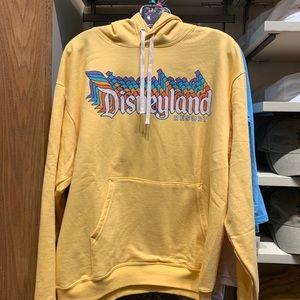 RESTOCK***Yellow Retro Disneyland Resort Hoodie